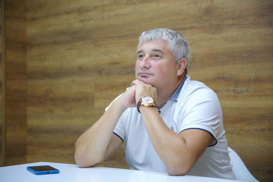 <p>Виктор Захаров, директор дистрибьюторской и логистической компании «Сервико».<br /> Фото: Евгений Козырев.</p>