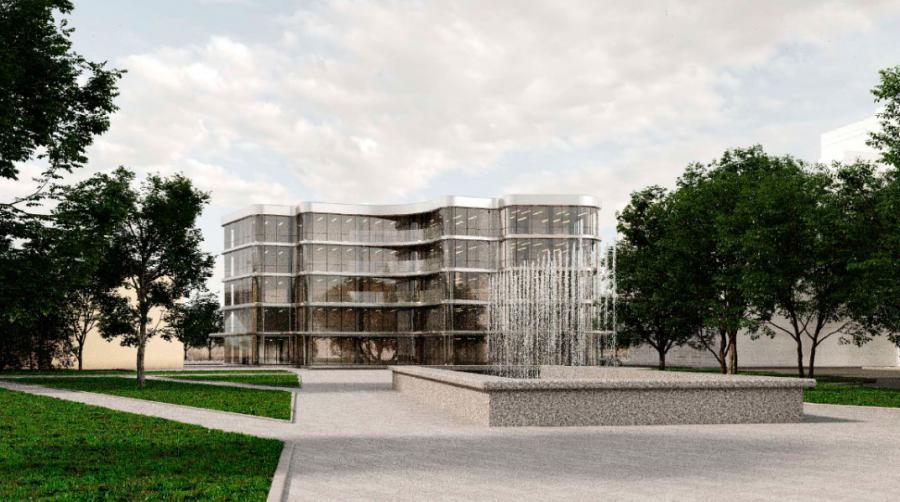 <p>En+ построит головной офис в Иркутске на Цесовской набережной (ул. 5 Армии, 2)</p>