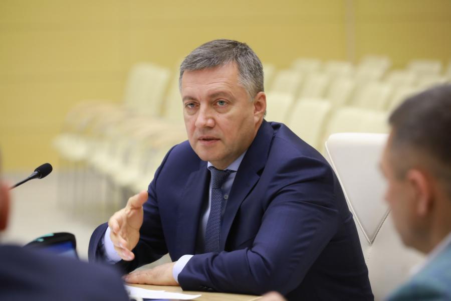 <p>Игорь Кобзев, губернатор Иркутской области</p>