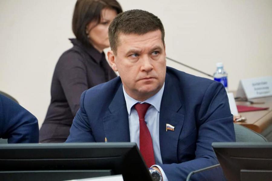 <p>Андрей Чернышев, сенатор Российской Федерации от Иркутской области</p>