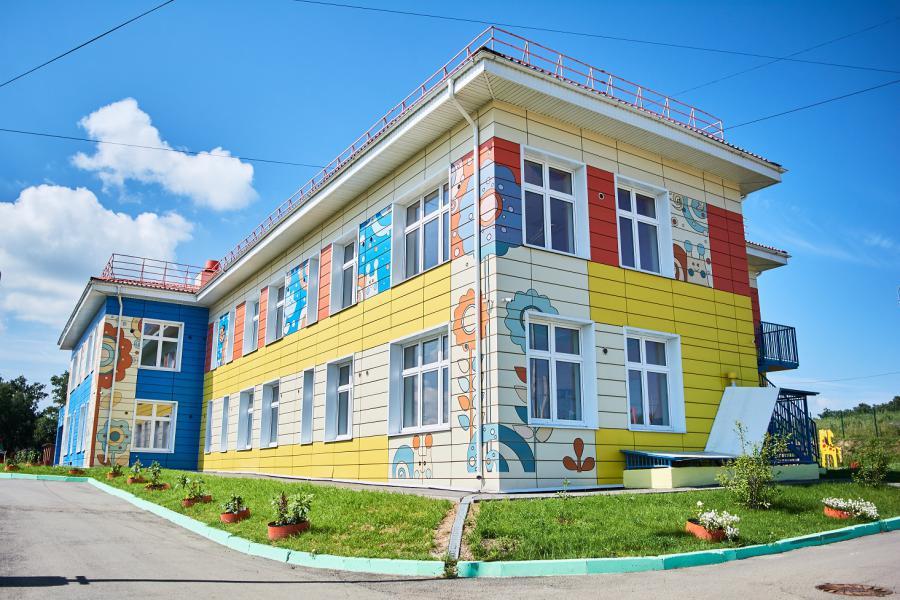 <p>Детский сад в мкр. Юго-Западном. Фото М. Романовой</p>