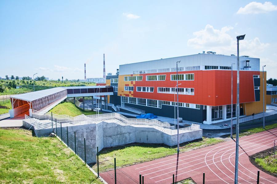 <p>Школа в мкр. Юго-Западном. Фото М. Романовой</p>