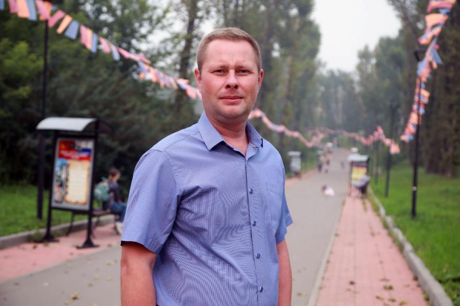 <p>Антон Осипов.<br /> Фото: Андрей Фёдоров.</p>