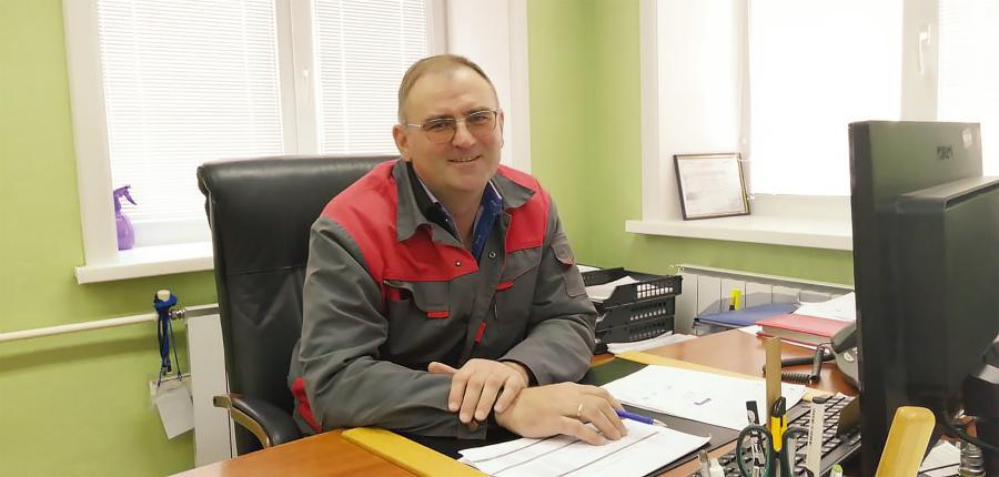 <p><em>Артём Минеев, исполнительный директор ООО «Саянскгазобетон»<br /> Фото из архива компании</em></p>