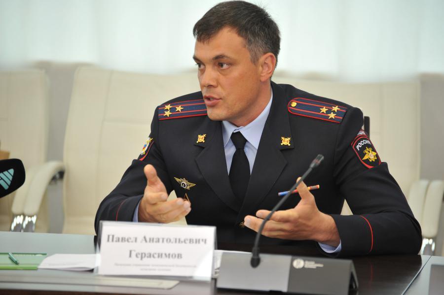 <p>Павел Герасимов, начальник управления экономической безопасности, полковник полиции.<br /> Фото: Дмитрий Свищев</p>