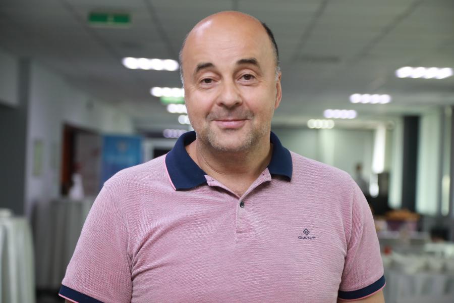 <p>Виктор Григоров, генеральный директор «Гранд Байкал».<br /> Байкальский международный форум партнеров-2021.<br /> Фото:Андрей Фёдоров.</p>