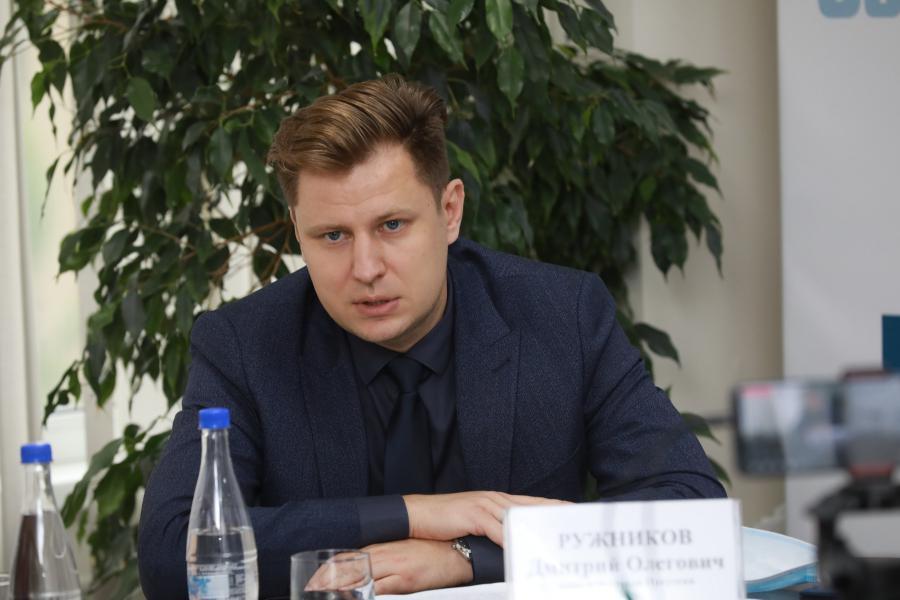 <p>Дмитрий Ружников, вице-мэр города Иркутска.<br /> Фото: Андрей Фёдоров</p>