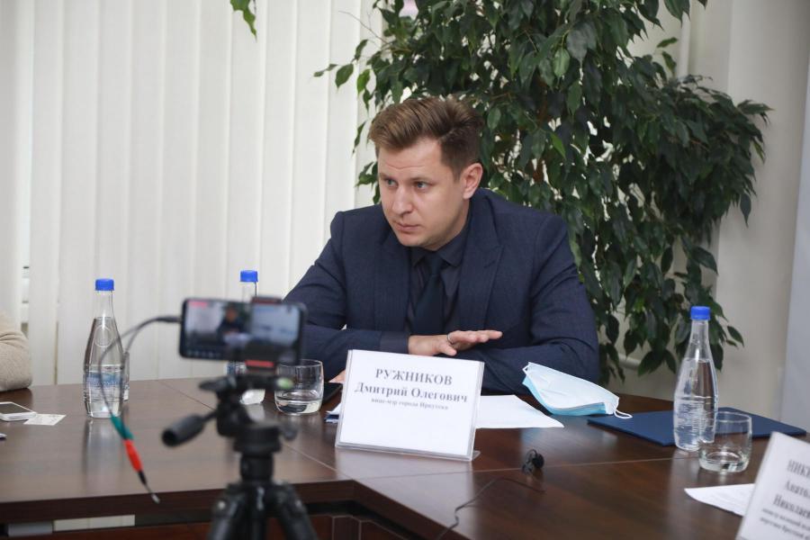 <p>Дмитрий Ружников, вице-мэр Иркутска.<br /> Фото: Андрей Фёдоров.</p>