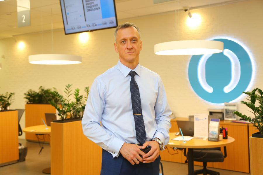 <p>Владимир Чернышев, управляющий банком «Открытие» в Иркутской области.</p>