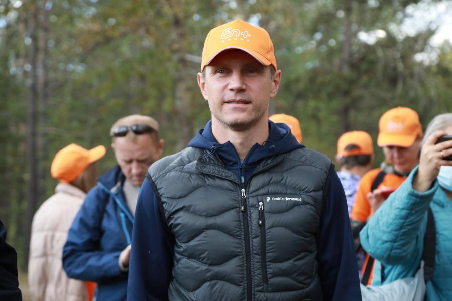 <p>Акция по уборке мусора в рамкахэкологического волонтерского проекта «360».<br /> Фото: А. Фёдоров</p>