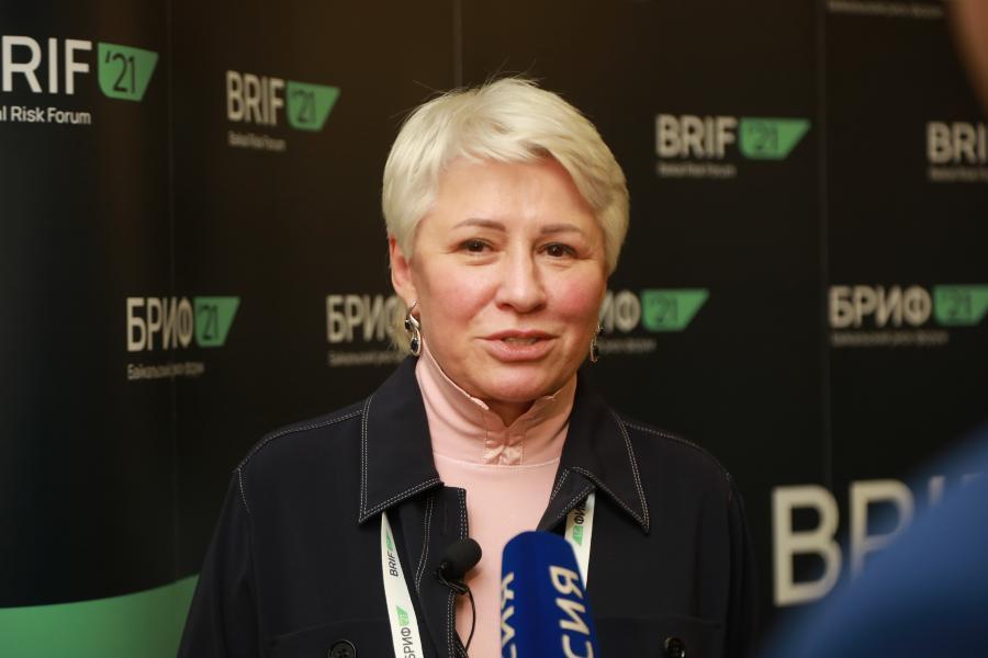 <p>БРИФ-2021.Марина Седых, генеральный директор АО «ИНК-Капитал».<br /> Фото: Андрей Фёдоров.</p>