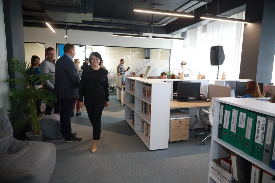 <p>Новый офис «Слаты» в Иркутске.<br /> Фото: Андрей Фёдоров.</p>