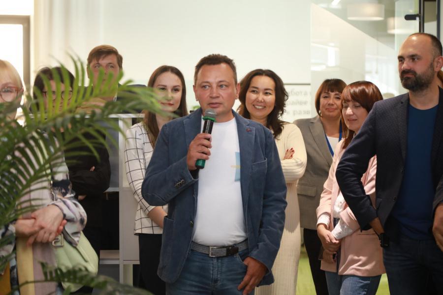 <p>Генеральный директор ООО «Маяк» Роман Селезнев.<br /> Фото: Андрей Фёдоров.</p>
