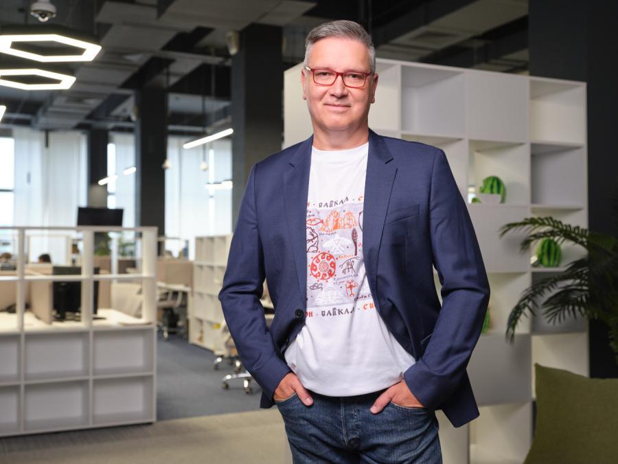 <p>Исполнительный директор торговой сети «Слата» Ярослав Шиллер. Фото предоставлено пресс-службой компании.</p>