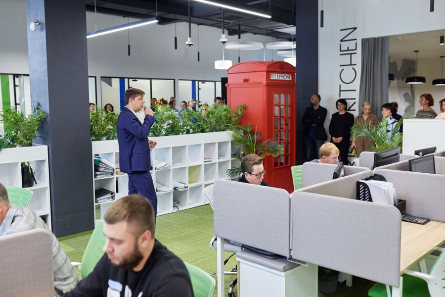 <p>Новый офис «Слаты» в Иркутске.<br /> Фото предоставлено пресс-службой компании.</p>