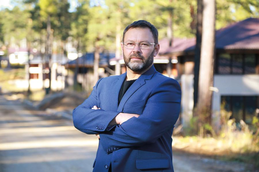 <p>Дмитрий Кузнецов, руководитель проекта «Патроны Парк»<br /> Фото А.Федорова</p>